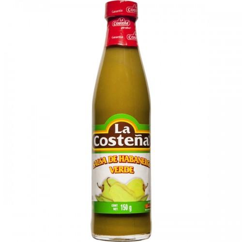 Salsa de Habanero Verde La Costena 145 g