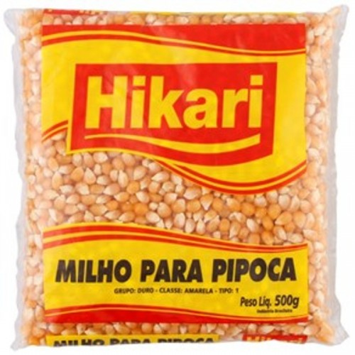 Milho de Pipoca Hikari 500g