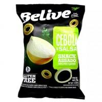 Belive Snack Cebola & Salsa S/Glutén - 0% Lactose