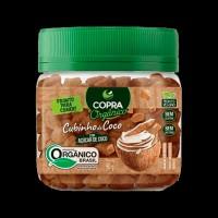 Cubinho de Coco com Açúcar de Coco