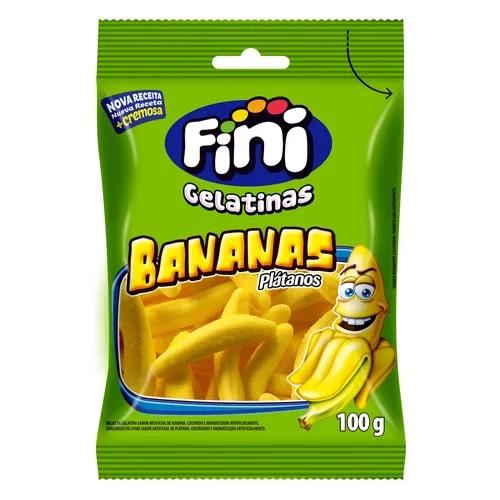 Fini Gelatinas Bananas  100g
