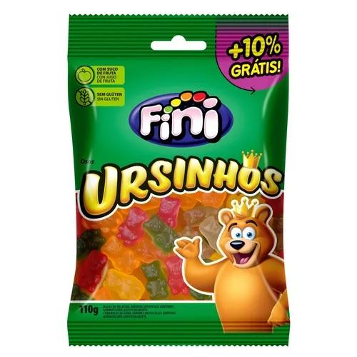 Fini Gelatinas Ursinhos  100g