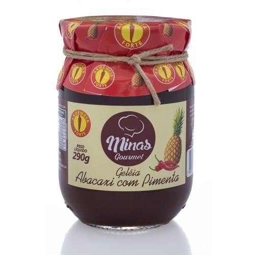Geleia Abacaxi com Pimenta Forte Minas Gourmet 290g
