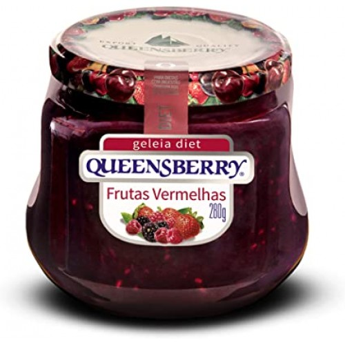 Geleia Queensberry Frutas Vermelhas  Diet 280 g