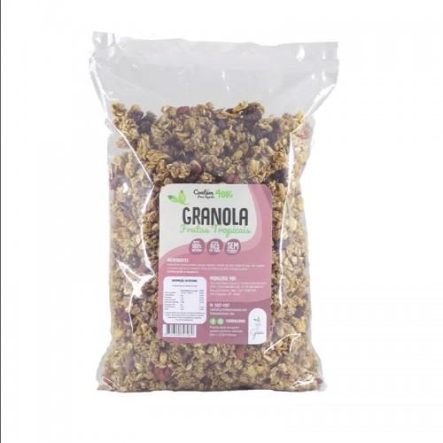 Granola Frutas Tropicais- Terra dos Grãos 400 G