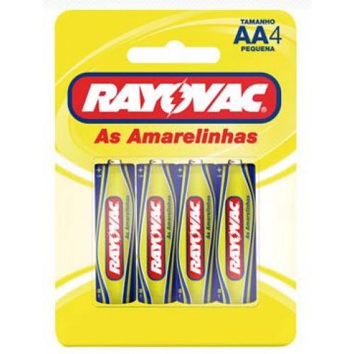 Pilha Amarelinha  Rayovac AA4
