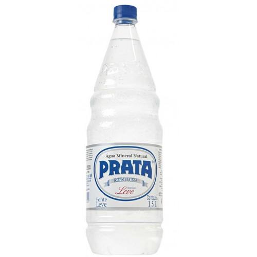 Água Mineral com gás Prata 1,270 l