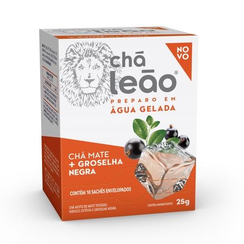 CHA MATE + GROSELHA NEGRA  - LEAO 10x2,5g