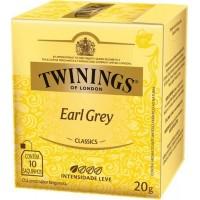 Cha Preto Twinings Early Grey 10x2g