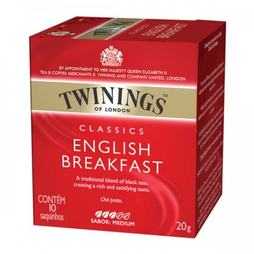 Cha Twinings English Breakfast  10x2g