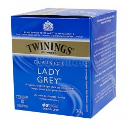 Cha Twinings Lady Grey 10x2g