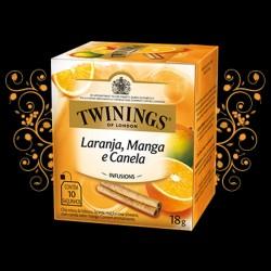 Cha Twinings Laranja, Manga e Canela 10x1,8g