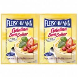 Gelatina Fleischmann Sem Sabor