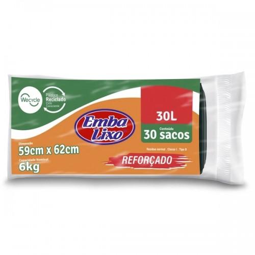 Saco para Lixo Embalixo 30l - Reforçado
