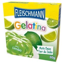 Gelatina  Fleischmann de  Limão 20g