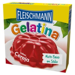 Gelatina  Fleischmann de Cereja 20g