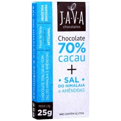 Chocolate Only 4 70% Cacau - Flor de Sal - 80 Gr