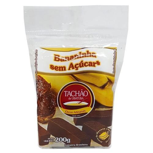 Bananinha Sem Acucar Tachao de Ubatuba 200g