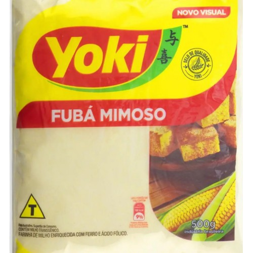 FUBÁ MIMOSO - YOKI 500G