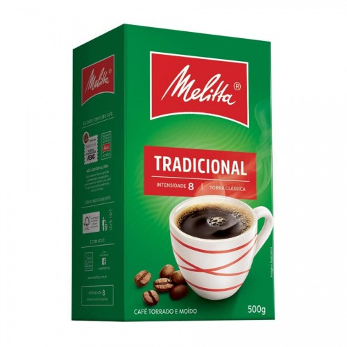 Café Torrado e Moído Melitta Tradicional  500 g