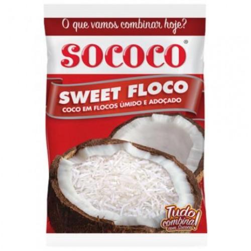 COCO EM FLOCOS SOCOCO 100 G