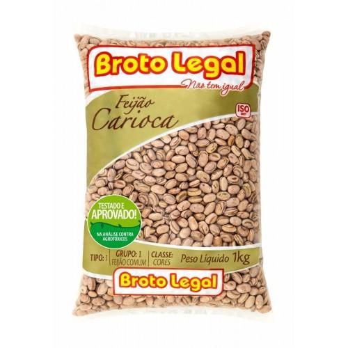 FEIJÃO CARIOCA BROTO LEGAL 1 KG