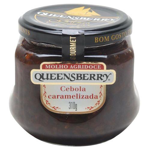Molho Agridoce Queensberry Cebola Caramelizada  Com Pimenta 310 g