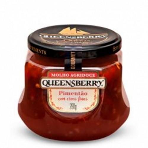 Molho Agridoce Queensberry Pimentão com Ervas Finas 290 g