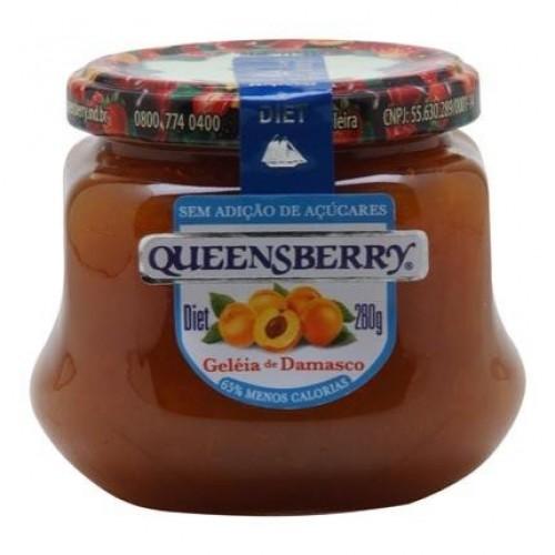 Geleia Queensberry Damasco Diet 280 g