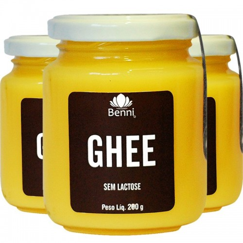 Ghee Manteiga sem lactose 200 g