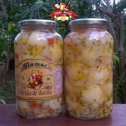 Pickles de Batata Clamar 590 g