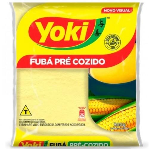 FUBÁ PRÉ COZIDO - YOKI 500G