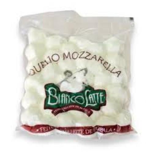 Queijo Mozzarella Bolinha tipo cereja Búfala - Bianco Latte 360 gr