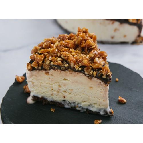 Torta de Gelato Caramelo com Nozes - Sallini 700g