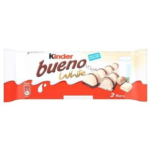 Chocolate Kinder Bueno White - 39 Gr