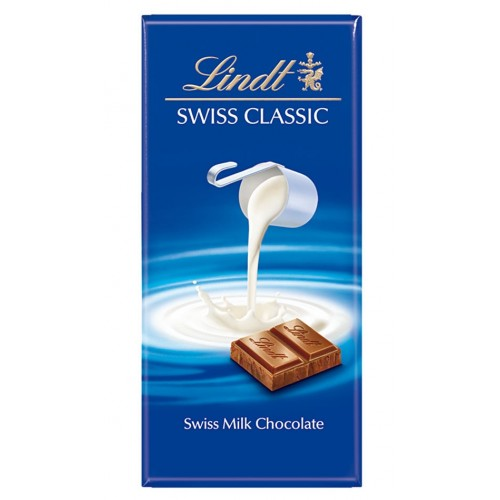 Chocolate Swiss Milk - Lindt 100 Gr