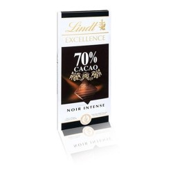 Chocolate 70% Cocoa Intense Dark - Lindt 100 Gr