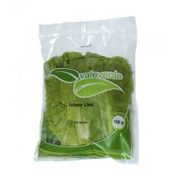 Alface Lisa Pré-Lavado - Vale Verde 150 Gramas