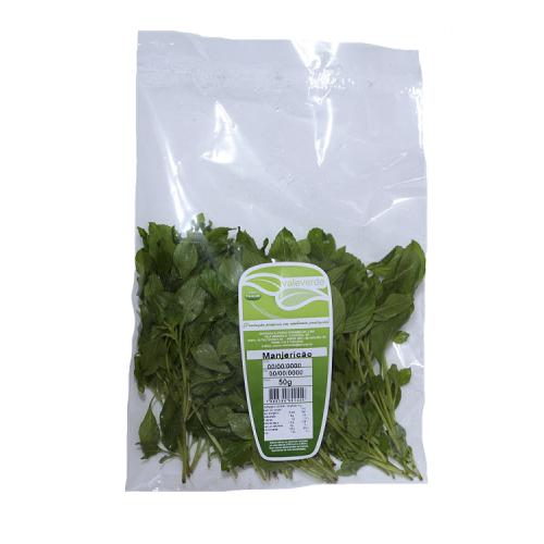 Manjericão Higienizado - Vale Verde 50 Gramas
