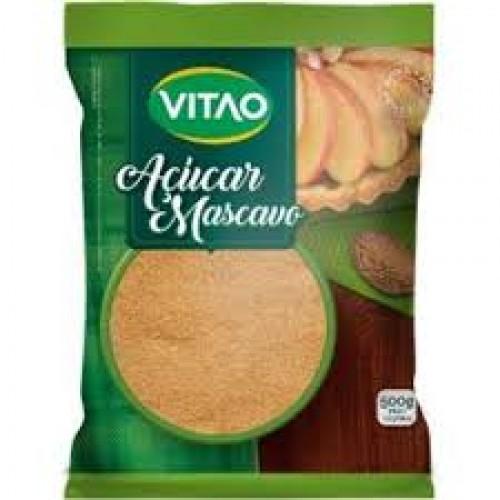 AÇÚCAR MASCAVO VITAO   500 G