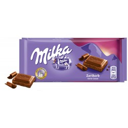 chocolate Milka Zartherb Extra Cocoa - 100 Gr