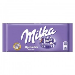 Chocolate Milka Alpine Milk- 100 Gr