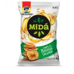 Chips de Banana Salgada da Terrinha  Mida 45g