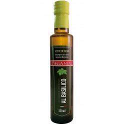 Azeite Extra Virgem com Aroma de Manjericão - Paganini 250 Ml