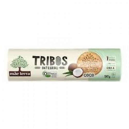 Biscoito Tribos Integral Coco  Mãe Terra 130G