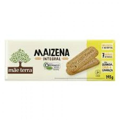 Biscoito Maizena Integral Mãe Terra 145G