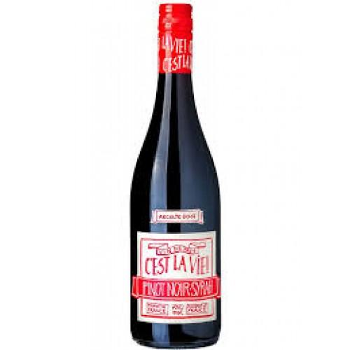 Vinh Tinto Cest La Vie Pinot Noir-Spray  - Recolte 2018