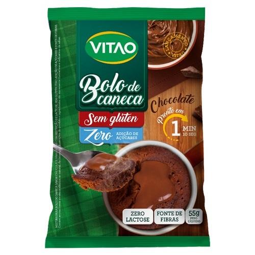 BOLO DE CANECA VITAO SEM GLÚTEN 55G