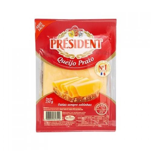 Queijo Prato Fração - President 150 g