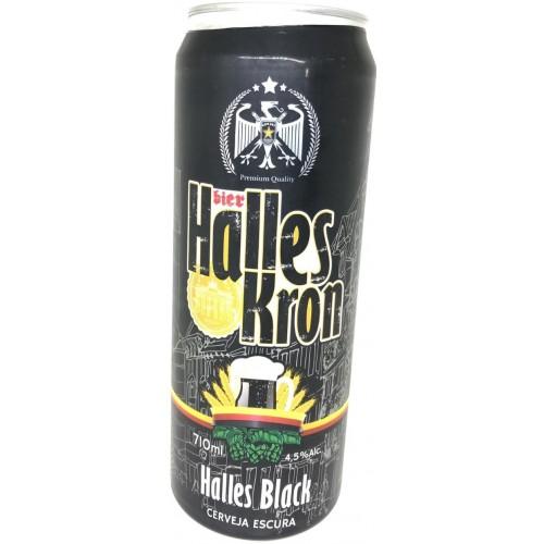 Cerveja Gelada Halles Black  - 710 ml